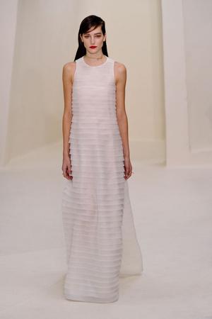 Показ Christian Dior коллекции сезона Весна-лето 2014 года Haute couture - www.elle.ru - Подиум - фото 574265