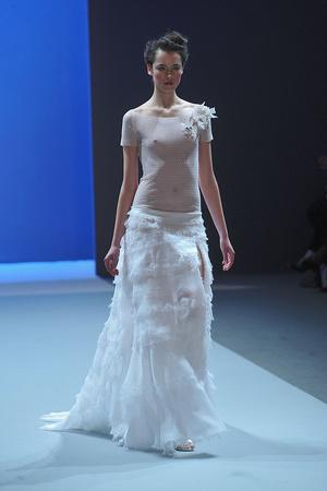 Показ Christophe Josse коллекции сезона Весна-лето 2010 года haute couture - www.elle.ru - Подиум - фото 137943