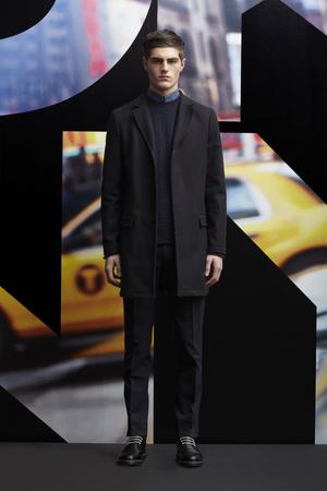 Показ DKNY Man коллекции сезона Осень-зима 2013-2014 года prêt-à-porter - www.elle.ru - Подиум - фото 484924