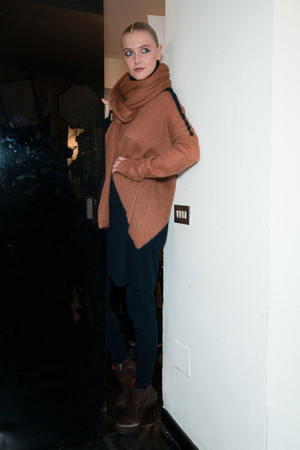Показ Krizia коллекции сезона Осень-зима 2012-2013 года Prêt-à-porter - www.elle.ru - Подиум - фото 362277