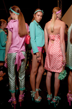 Показ Blugirl коллекции сезона Весна-лето 2011 года prêt-à-porter - www.elle.ru - Подиум - фото 185994