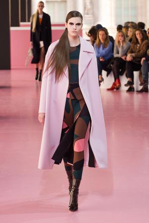 Показ Christian Dior коллекции сезона Осень-зима 2015-2016 года Prêt-à-porter - www.elle.ru - Подиум - фото 596018