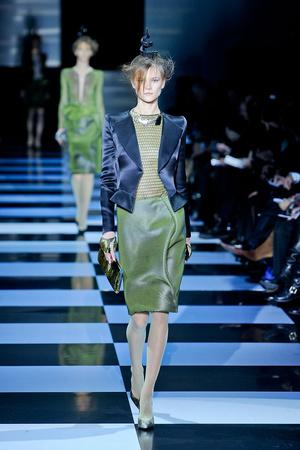 Показ Giorgio Armani Privé коллекции сезона Весна-лето 2012 года Haute couture - www.elle.ru - Подиум - фото 331483