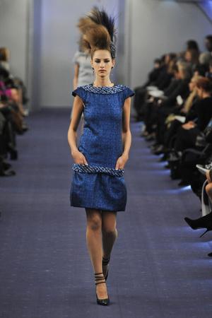 Показ  коллекции сезона Весна-лето 2012 года haute couture - www.elle.ru - Подиум - фото 331325