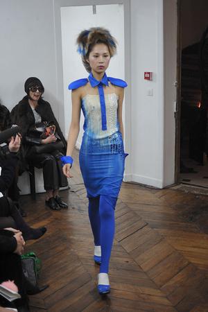 Показ On Aura Tout Vu коллекции сезона Весна-лето 2009 года haute couture - www.elle.ru - Подиум - фото 86894
