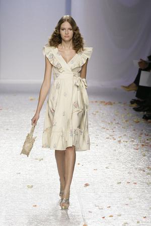 Показ Luisa Beccaria коллекции сезона Весна-лето 2009 года prêt-à-porter - www.elle.ru - Подиум - фото 82683
