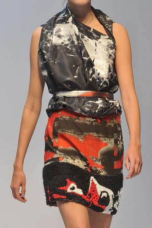 Показ Cathy Pill коллекции сезона Весна-лето 2009 года Haute couture - www.elle.ru - Подиум - фото 86202
