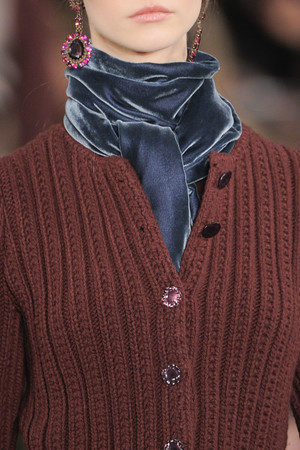 Показ Ralph Lauren коллекции сезона Осень-зима 2013-2014 года prêt-à-porter - www.elle.ru - Подиум - фото 500457