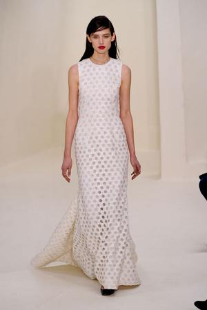 Показ Christian Dior коллекции сезона Весна-лето 2014 года Haute couture - www.elle.ru - Подиум - фото 574271