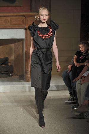 Показ Cynthia Rowley коллекции сезона Осень-зима 2009-2010 года Prêt-à-porter - www.elle.ru - Подиум - фото 89694