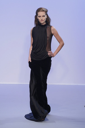 Показ Christophe Josse коллекции сезона Осень-зима 2010-2011 года Haute couture - www.elle.ru - Подиум - фото 167194