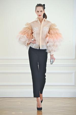 Показ Alexis Mabille коллекции сезона Осень-зима 2010-2011 года haute couture - www.elle.ru - Подиум - фото 167583
