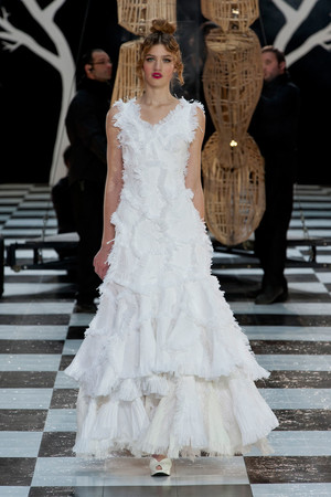 Показ Franc Sorbier коллекции сезона Весна-лето 2014 года Haute couture - www.elle.ru - Подиум - фото 575079