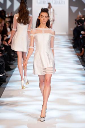 Показ Georges Chakra коллекции сезона Весна-лето 2013 года haute couture - www.elle.ru - Подиум - фото 480709
