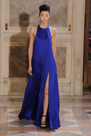 Показ Bouchra Jarrar коллекции сезона Весна-лето 2014 года haute couture - www.elle.ru - Подиум - фото 574680
