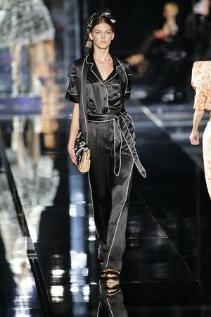 Показ Dolce & Gabbana коллекции сезона Весна-лето 2009 года prêt-à-porter - www.elle.ru - Подиум - фото 81488