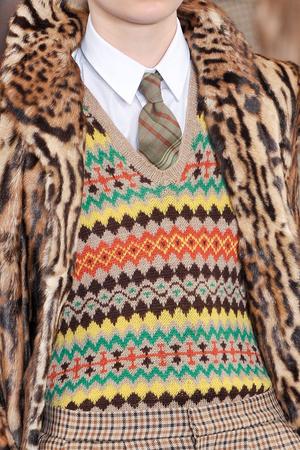 Показ Ralph Lauren коллекции сезона Осень-зима 2012-2013 года prêt-à-porter - www.elle.ru - Подиум - фото 350823