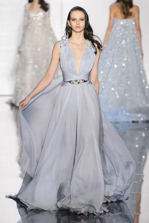 Показ Zuhair Murad коллекции сезона Весна-лето 2015 года Haute couture - www.elle.ru - Подиум - фото 593245
