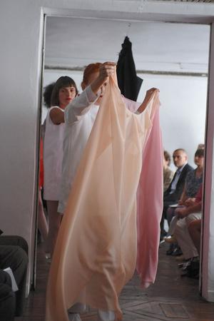 Показ Adeline Andre коллекции сезона Осень-зима 2009-2010 года Haute couture - www.elle.ru - Подиум - фото 87045