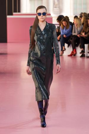 Показ Christian Dior коллекции сезона Осень-зима 2015-2016 года Prêt-à-porter - www.elle.ru - Подиум - фото 596025