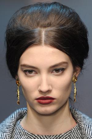 Показ Dolce & Gabbana коллекции сезона Осень-зима 2013-2014 года Prêt-à-porter - www.elle.ru - Подиум - фото 529739