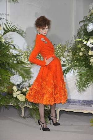 Показ Christian Dior коллекции сезона Осень-зима 2009-2010 года Haute couture - www.elle.ru - Подиум - фото 87328