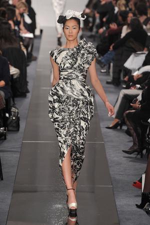 Показ  коллекции сезона Весна-лето 2009 года Haute couture - www.elle.ru - Подиум - фото 86352