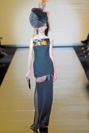 Показ Giorgio Armani Privé коллекции сезона Осень-зима 2011-2012 года haute couture - www.elle.ru - Подиум - фото 277581