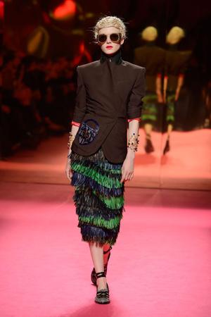 Показ Schiaparelli коллекции сезона Весна-лето 2015 года Haute couture - www.elle.ru - Подиум - фото 592942