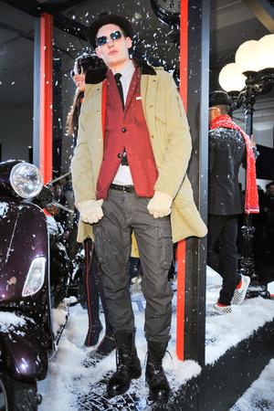Показ Gant by Michael Bastian коллекции сезона Осень-зима 2012-2013 года prêt-à-porter - www.elle.ru - Подиум - фото 348454