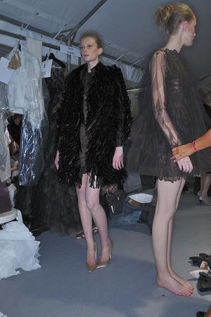 Показ Valentino коллекции сезона Осень-зима 2009-2010 года haute couture - www.elle.ru - Подиум - фото 88468