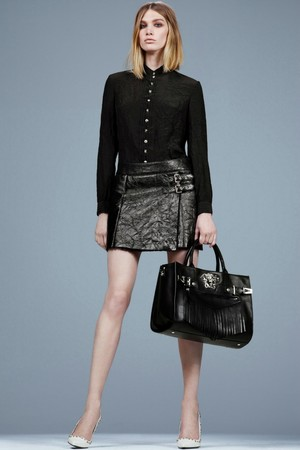 Показ Versace коллекции сезона Pre-fall   2014 года Prêt-à-porter - www.elle.ru - Подиум - фото 573392