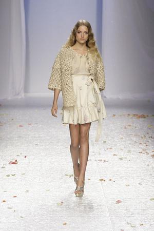 Показ Luisa Beccaria коллекции сезона Весна-лето 2009 года prêt-à-porter - www.elle.ru - Подиум - фото 82691