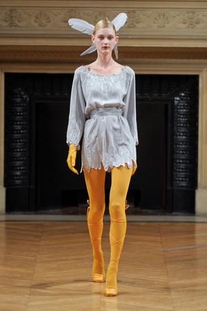 Показ Alexis Mabille коллекции сезона Осень-зима 2011-2012 года Haute couture - www.elle.ru - Подиум - фото 277058