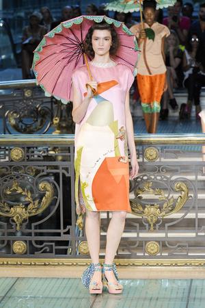 Показ Tsumori Chisato коллекции сезона Весна-лето 2012 года prêt-à-porter - www.elle.ru - Подиум - фото 311110