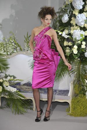 Показ Christian Dior коллекции сезона Осень-зима 2009-2010 года Haute couture - www.elle.ru - Подиум - фото 87319