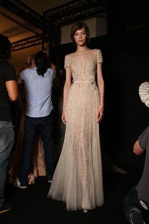 Показ Elie Saab коллекции сезона Осень-зима 2011-2012 года haute couture - www.elle.ru - Подиум - фото 279038