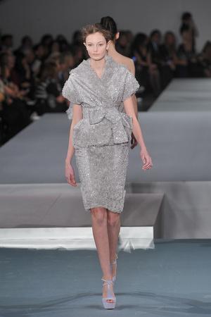 Показ Elie Saab коллекции сезона Весна-лето 2009 года Haute couture - www.elle.ru - Подиум - фото 86581
