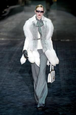 Показ Gucci коллекции сезона Осень-зима 2011-2012 года Prêt-à-porter - www.elle.ru - Подиум - фото 242734