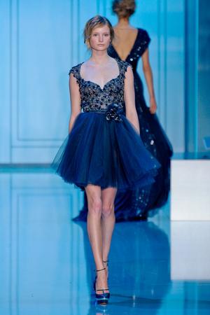 Показ Elie Saab коллекции сезона Осень-зима 2011-2012 года haute couture - www.elle.ru - Подиум - фото 278797