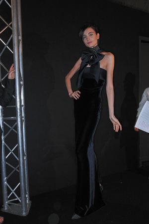 Показ Giorgio Armani Privé коллекции сезона Осень-зима 2009-2010 года haute couture - www.elle.ru - Подиум - фото 87716