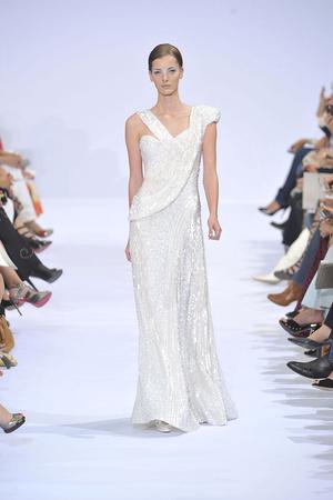 Показ Elie Saab коллекции сезона Осень-зима 2009-2010 года haute couture - www.elle.ru - Подиум - фото 87540