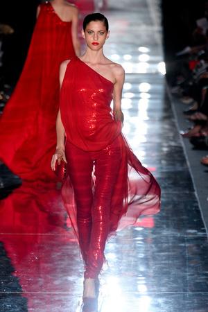 Показ Alexander Vauthier коллекции сезона Осень-зима 2011-2012 года haute couture - www.elle.ru - Подиум - фото 278103
