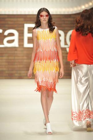 Показ Laura Biagiotti коллекции сезона Весна-лето 2009 года Prêt-à-porter - www.elle.ru - Подиум - фото 82556