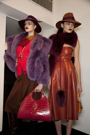 Показ Gucci коллекции сезона Осень-зима 2011-2012 года Prêt-à-porter - www.elle.ru - Подиум - фото 257105