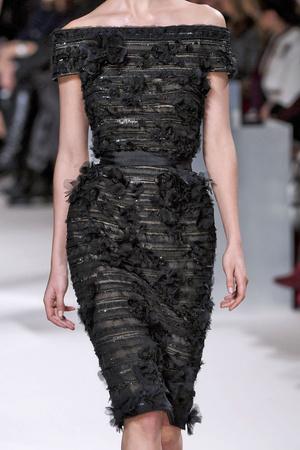 Показ Elie Saab коллекции сезона Весна-лето 2011 года Haute couture - www.elle.ru - Подиум - фото 216993