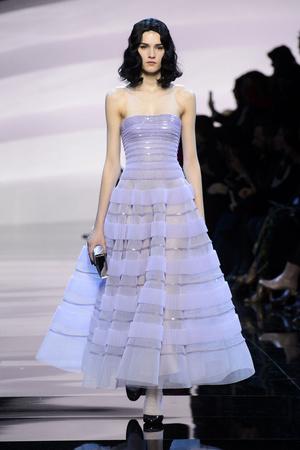 Показ Armani Prive коллекции сезона Весна-лето  2016 года Haute couture - www.elle.ru - Подиум - фото 602791