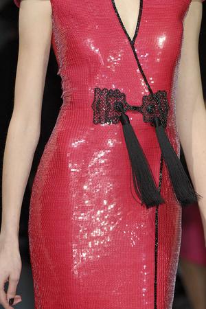 Показ Giorgio Armani Privé коллекции сезона Весна-лето 2009 года haute couture - www.elle.ru - Подиум - фото 86733