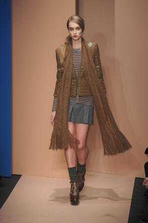 Показ DKNY коллекции сезона Осень-зима 2010-2011 года prêt-à-porter - www.elle.ru - Подиум - фото 142584