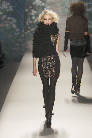 Показ Tracy Reese коллекции сезона Осень-зима 2010-2011 года prêt-à-porter - www.elle.ru - Подиум - фото 145105